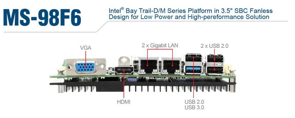 MS-98F6 アルミフロントフレームデザイン 産業用パネルPC