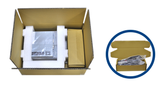 Corrugated carton and accessory