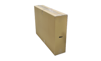 Honeycomb cardboard box for larger than 32 inches