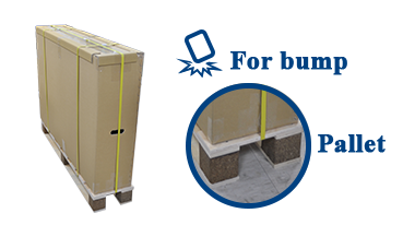 Enhanced protection around Automatic machine sealing packing belt protection