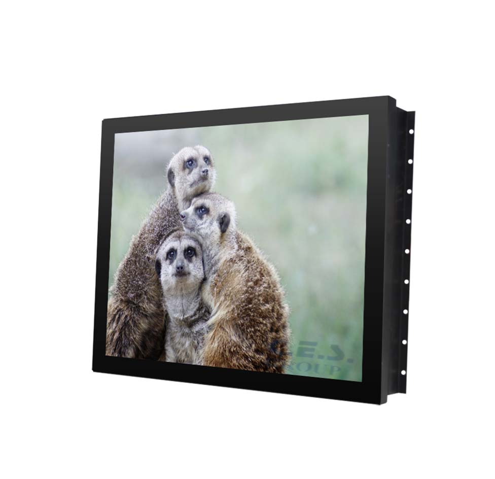 17-inch Open Frame design Industrial LCD Monitor