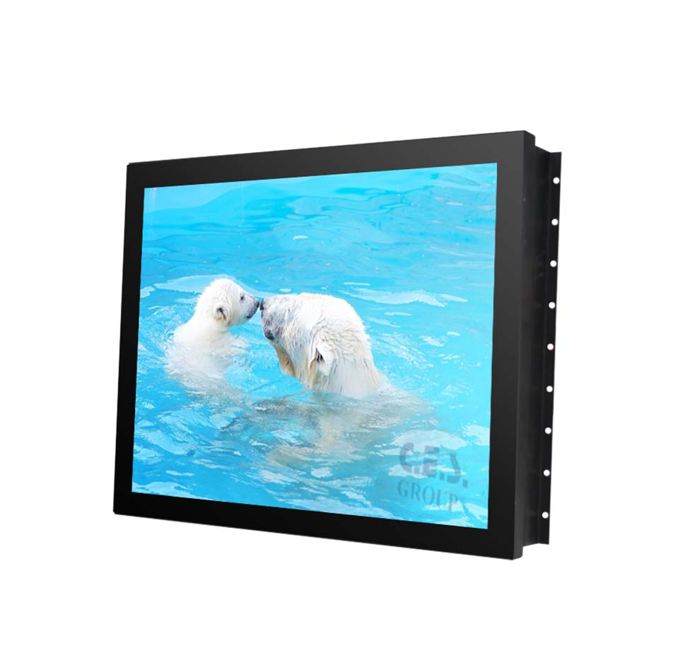 18.5-inch Open Frame design Industrial LCD Monitor