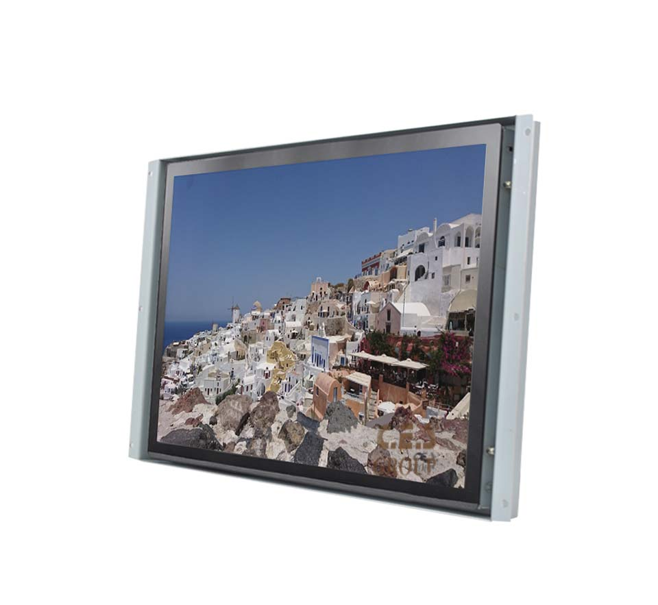 19-inch Open Frame design Industrial LCD Monitor
