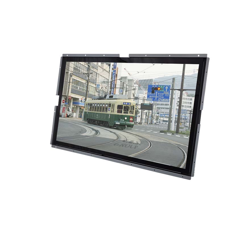55-inch Open Frame design Industrial LCD Monitor