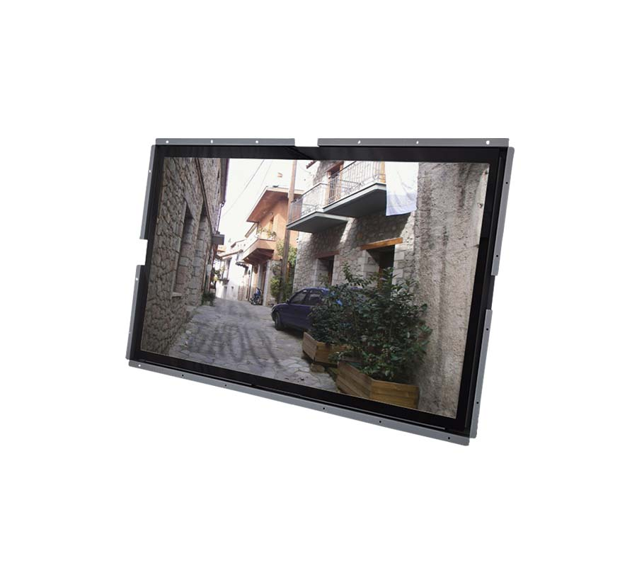 65-inch Open Frame design Industrial LCD Monitor