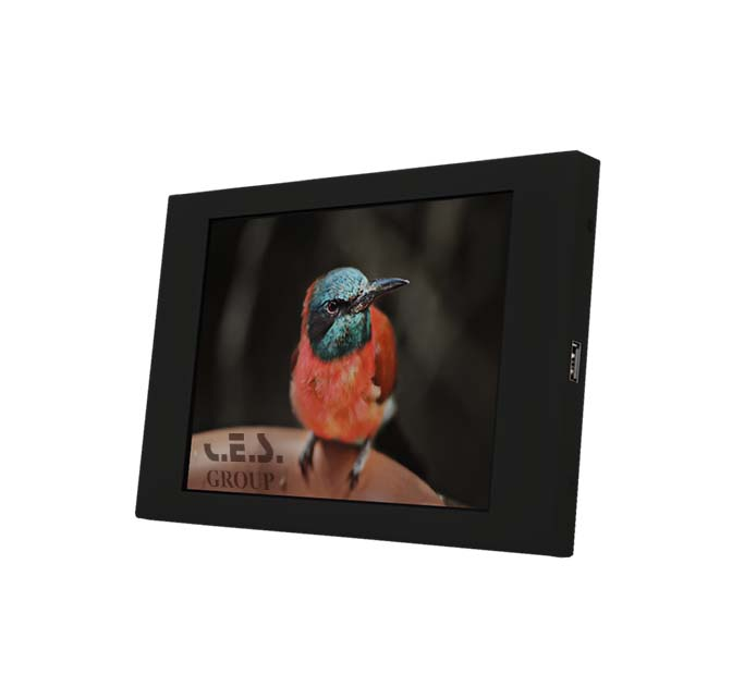 6.5-inch Chassis design Industrial LCD Monitor