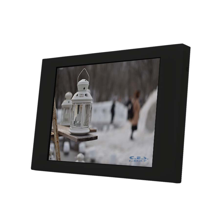 8.4-inch Chassis design Industrial LCD Monitor