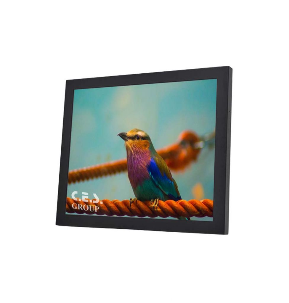 12.1-inch Chassis design Industrial LCD Monitor