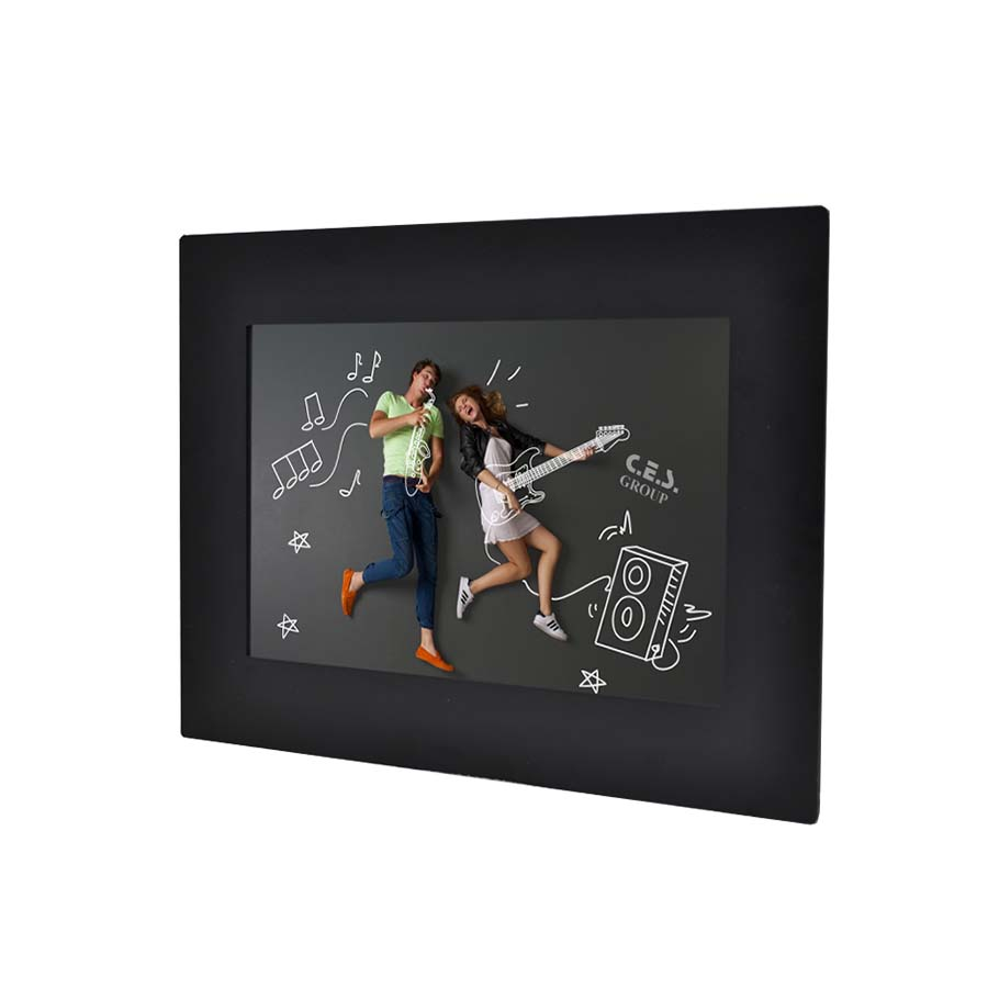 10.4英吋 工業級面板安裝鋁前框液晶螢幕