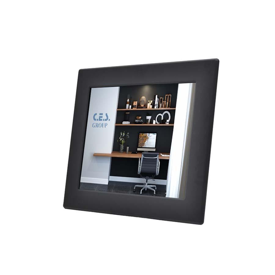 12.1英吋 工業級面板安裝鋁前框液晶螢幕
