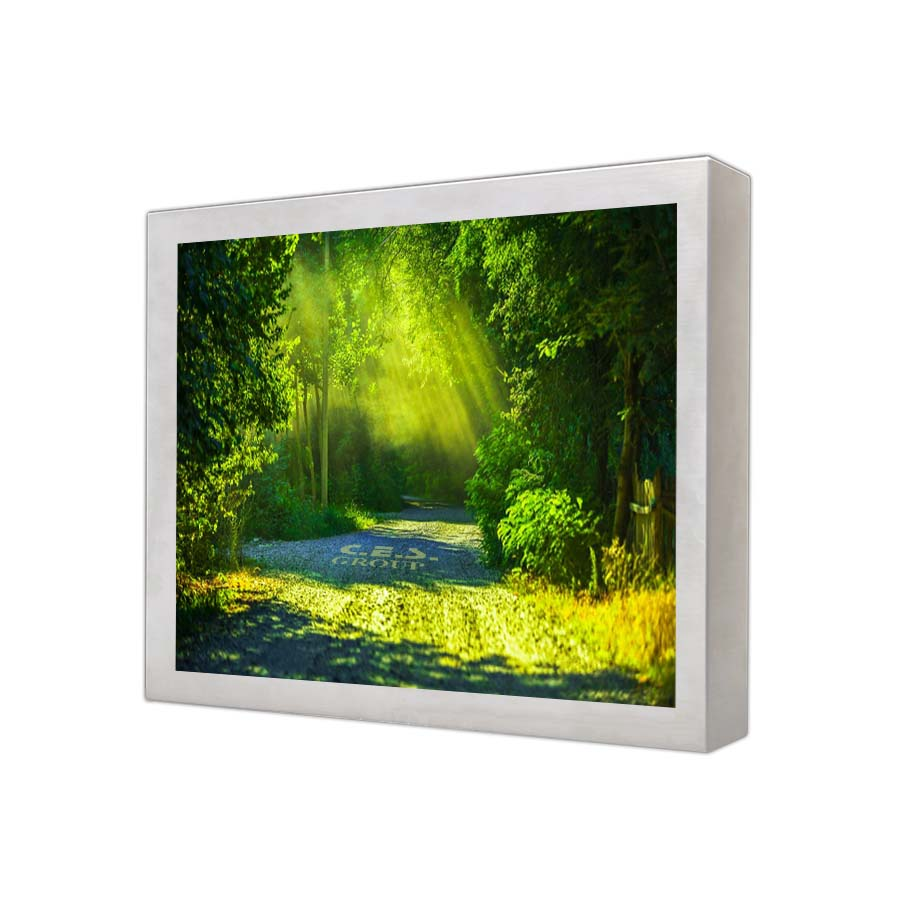 17-inch Stainless enclosuree design Industrial LCD Monitor