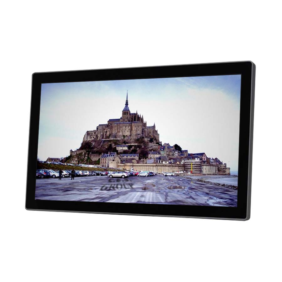 15-inch True flat design Industrial LCD Monitor
