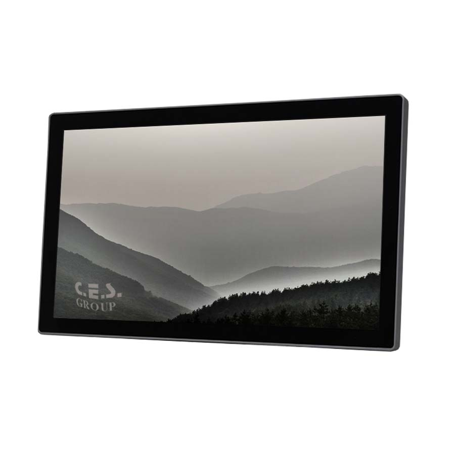 15.6-inch True flat design Industrial LCD Monitor