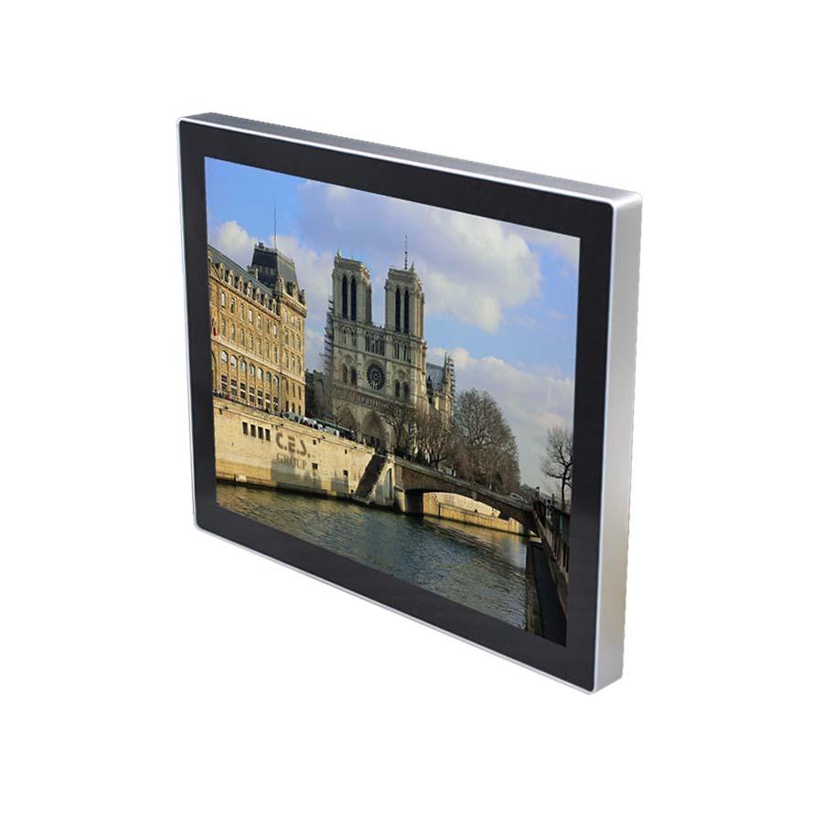 17-inch True flat design Industrial LCD Monitor