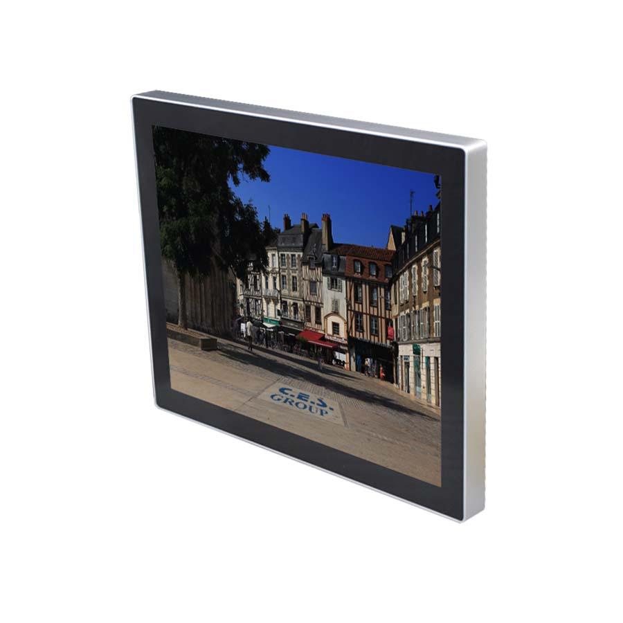 18.5-inch True flat design Industrial LCD Monitor
