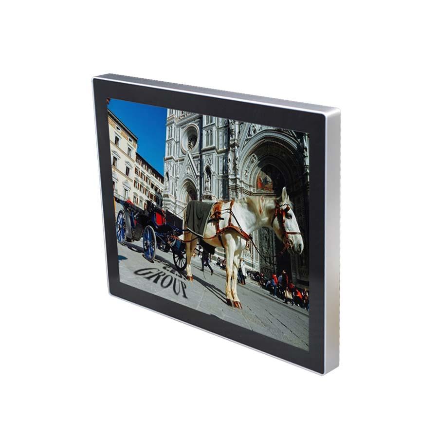 19-inch True flat design Industrial LCD Monitor