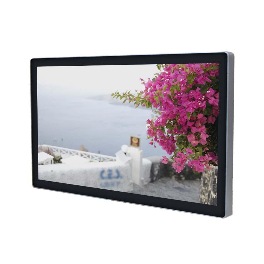 24-inch True flat design Industrial LCD Monitor