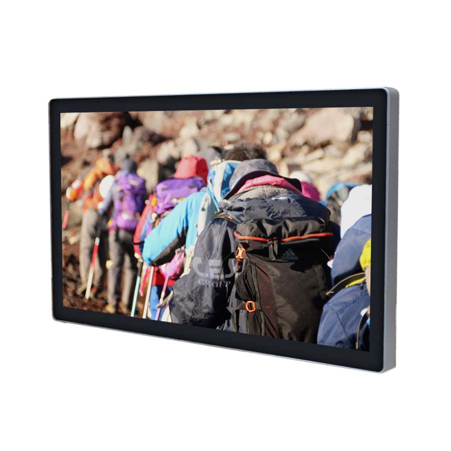 27-inch True flat design Industrial LCD Monitor