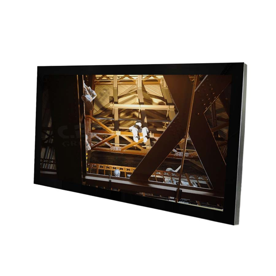 55-inch True flat design Industrial LCD Monitor